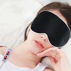 USB三段絲質恆溫熱敷眼罩 (加贈冷敷袋)