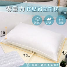 台灣製 零重力釋壓獨立筒枕 50顆全包式獨立筒彈簧