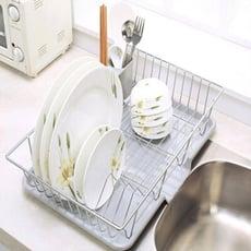 愛上洗碗 簡約風瀝水架 碗盤架 瀝水籃