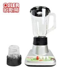 《Osler歐斯樂》1500cc塑膠杯果汁機/調理機(附研磨杯)