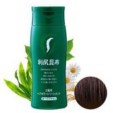 日本原裝Sastty 利尻昆布白髮染髮劑 咖啡色-200g(再送染髮梳)