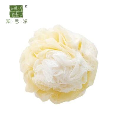 潔思淨 台灣製造花型魔縐沐浴球 快速起泡