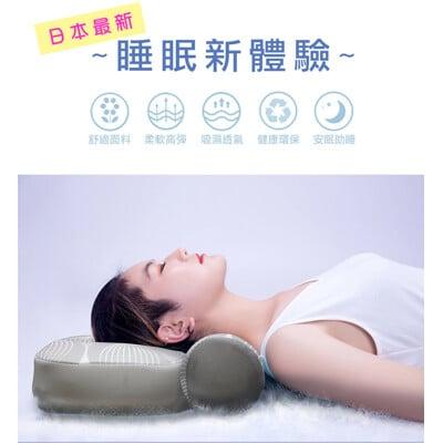 【YAMAKAWA】新款 全方位可調式護頸枕(好睡、透氣、可調式、護頸枕、瑜珈枕、水洗枕)