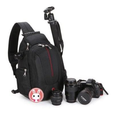 瑞士軍刀~單肩斜背相機包 單眼相機背包