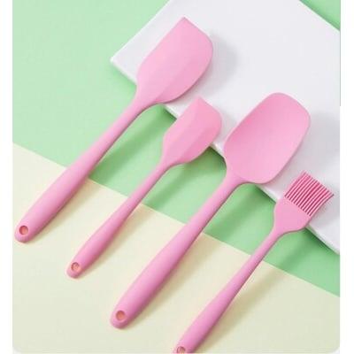 矽膠刮刀4件套