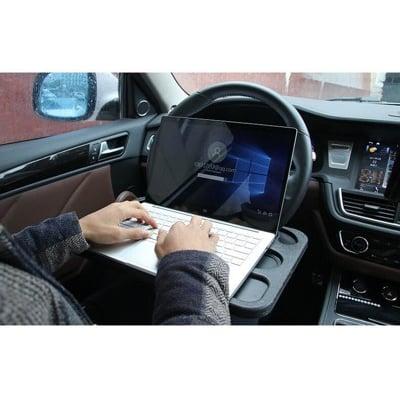 多功能方向盤辦公桌 卡桌 筆記型電腦架 餐桌 寫字板 筆電桌 置物架 餐盤 置物台 車用電腦桌 平板