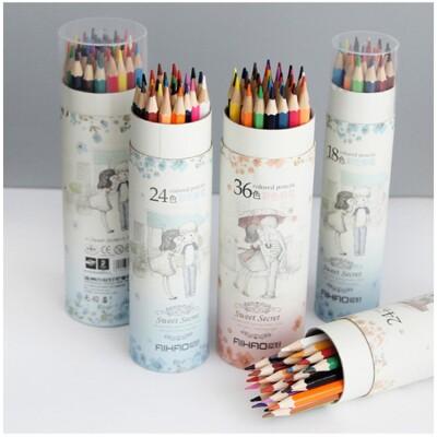 《貳次方》 36色 甜蜜蜜色鉛筆 塗鴉 彩繪筆 著色筆