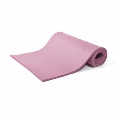 【LOTUS】福利品 台灣製NBR加長185cm加厚15mm瑜珈墊-顏色隨機