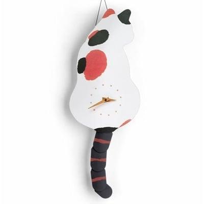二代仿真貓尾巴掛鐘 抖音同款/非單擺尾巴 這個是多段尾巴/掛鐘/時鐘/貓咪掛鐘