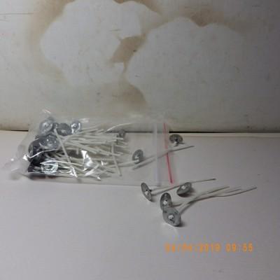 50根燈燭芯5.7cm 蠟燭製作蠟燭茶杯diy香薰蠟燭燈芯5.7cm(約24小時) -