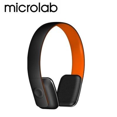 【福利品】MicrolabT2 藍芽4.0 無線高傳真多功能多媒體耳機 (內建通訊麥克風)