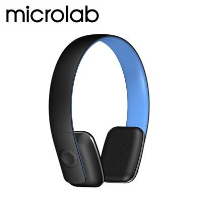 【福利品】MicrolabT2 藍芽4.0 無線高傳真多功能多媒體耳機 (內建通訊麥克風)_藍