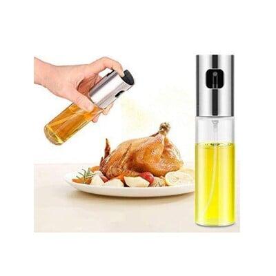 噴霧式油瓶 氣炸鍋專用 低油料理 分裝瓶 油壺 噴油瓶 玻璃 油罐 廚房