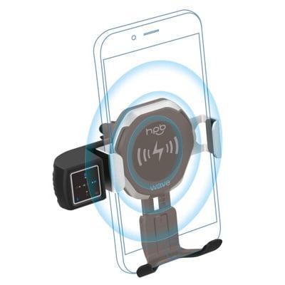 無線充電藍芽手勢控制車架(5W) hpb Wave, Pixel4 也同步跟進手勢控制囉!