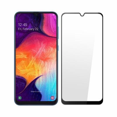 Samsung A30/A50 全膠滿版9H鋼化日規玻璃保護貼