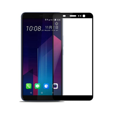 HTC U11 Plus (6吋) 全膠滿版9H鋼化日規玻璃保護貼