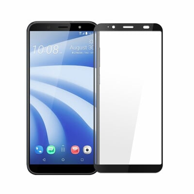 HTC U12 Life 全膠滿版9H鋼化日規玻璃保護貼