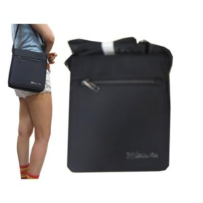 斜側包中容量扁包設計進口防水尼龍布材質蓋式主袋+外袋共三層肩斜側背隨身上學百搭萬用