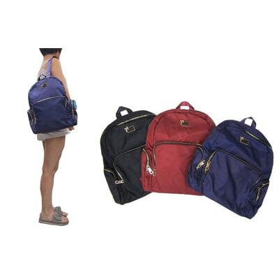 後背包大容量可A4資料夾水瓶外袋可8吋平板防水水晶布材質休閒隨身物品