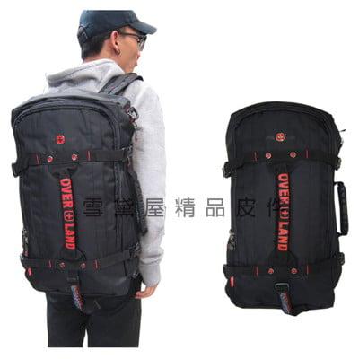 後背旅行袋多功能可A4資料夾可後背可手提肩背斜側背可14吋電腦防水尼龍布固定拉桿