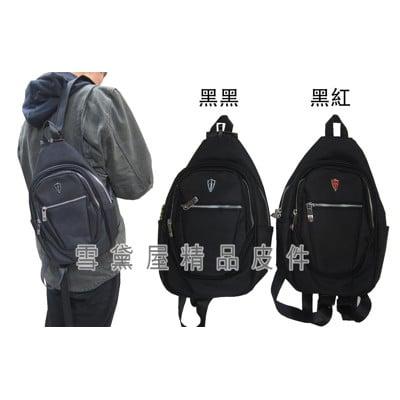 SKYBOW 後背包小容量單左右肩雙後背二層主袋+外袋共三層防水尼龍布二層主袋口
