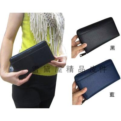 COACH 長夾加大款國際正版保證進口防水防刮皮革U型拉鍊式主袋品證購證塵套提袋