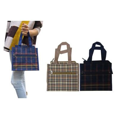 餐袋小容量MIT製造外水瓶袋簡單外出提袋上學書包外置教具品雨衣傘便當袋防水尼龍布