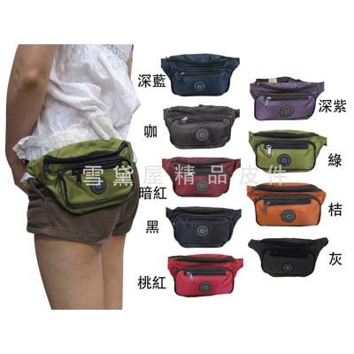 腰包小容量台灣製造隨身物品包運動休閒隨身包防水尼龍布材質防竊盜必備款輕便型全齡男女適用
