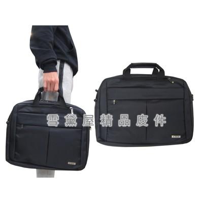~雪黛屋~X-TREME 公事包三用功能中大容量二層主袋可A4資料夾電腦手提可肩背可斜側後背防水尼龍