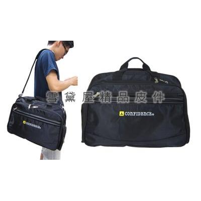 公事包超大容量可放A4夾二層主袋MIT休閒肩側包工具防水尼龍布手提肩側背