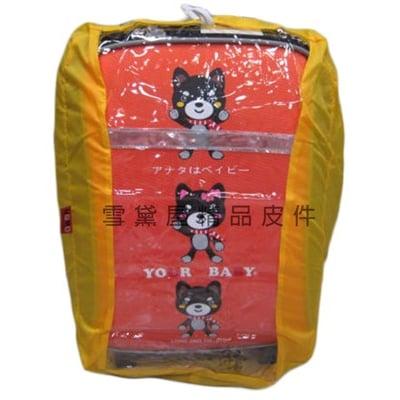 雨衣罩台灣製造背包雨衣罩40L輕巧好收納不占空間可掛於包包輕便攜帶防水尼龍+透明PVC材質