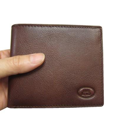 ~雪黛屋~18NINO81 短夾男紳士短型皮夾進口專櫃100%進口牛皮材質標準尺寸固定型證夾BNI1
