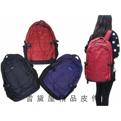 後背包中大容量超輕多隔層超輕電腦後背包高單數防水尼龍布材質可放A4資料夾萬用