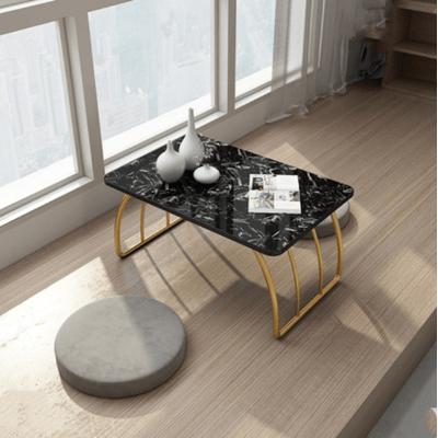 桌子 休閒桌 50*40*30cm 接待桌北歐理石榻榻米茶幾飄窗小茶幾小桌子地桌陽臺地毯桌矮茶桌炕桌