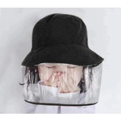防疫防飛沫防風塵防曬紫外線遮陽漁夫帽男女