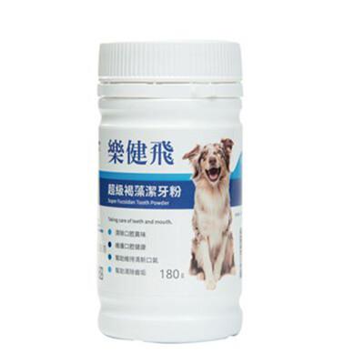 樂健飛L.C.F-犬用寵物超級褐藻潔牙粉180g(11240015