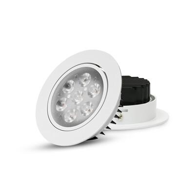 可調角 9.5公分 7W 歐司朗晶片 超薄 LED崁燈