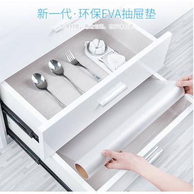 日本防潮墊 櫥櫃墊紙 廚房抽屜墊 家用 廚櫃 衣櫃 鞋櫃 加厚 透明 防水 貼紙