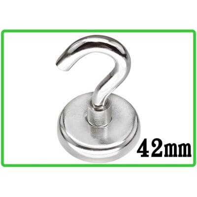 《42mm》台灣現貨-強力磁鐵掛勾 掛鉤 掛鈎 冰箱掛勾 廚房吊鉤 多用途掛勾 露營吊勾