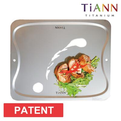 砧板【鈦安 TiANN】 專利萬用鈦砧板/砧盤/抗菌砧盤/沾板/切菜板/烘焙烤盤/露營餐盤