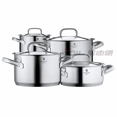 易油網wmf gourmet plus 五星 不鏽鋼湯鍋 4件組 含鍋蓋 18/10 07 2004