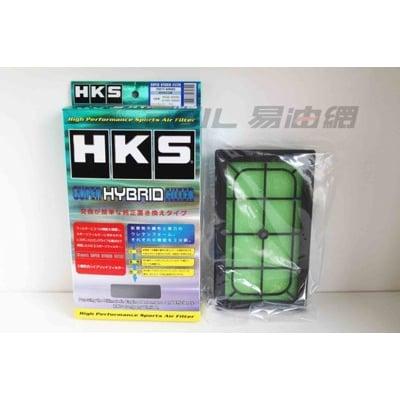 易油網hks super hybrid 高效能 空氣濾芯 70017-at015 lexus gs3