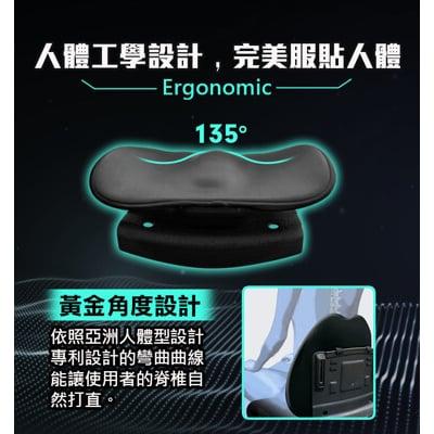 【Future Lab. 未來實驗室】7D 氣壓避震背墊