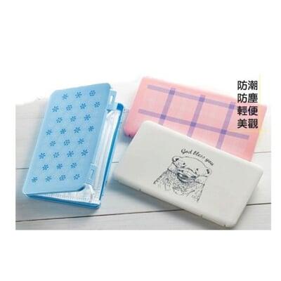 【只有白熊款】日本口罩收納盒 台灣現貨 白色北極熊/MASK CASE口罩收納防疫必備 書包包包必備