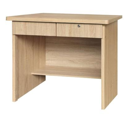 90cm書桌-k63-126工業風工作桌 書櫃型書桌 書桌加書櫃 【金滿屋】