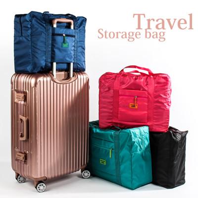 4色行李箱拉桿旅行收納袋