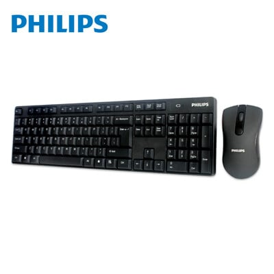 【PHILIPS 飛利浦】 無線鍵盤滑鼠組 SPT6501