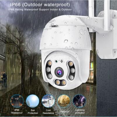 R21型 旗艦版 防水 攝影機 監視器鏡頭 看家神器 無線 網路 記憶卡 WiFi 全景無死角 遠端