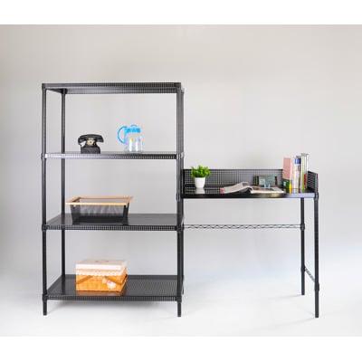 大摩家 9045層架書桌兩件組 寬175X深45X高180 CM