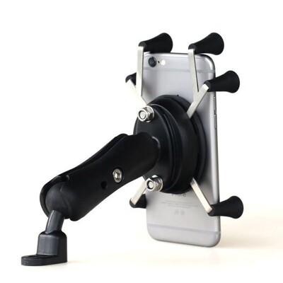 機車 重車 腳踏車 【防盜款】手機支架 全不銹鋼材質 適用4-6吋 導航支架 防盜支架 機車支架